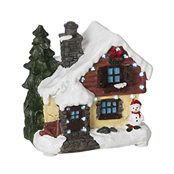 Gisela Graham Gingerbread House Ornament Light Up LED Christmas Xmas Decorations