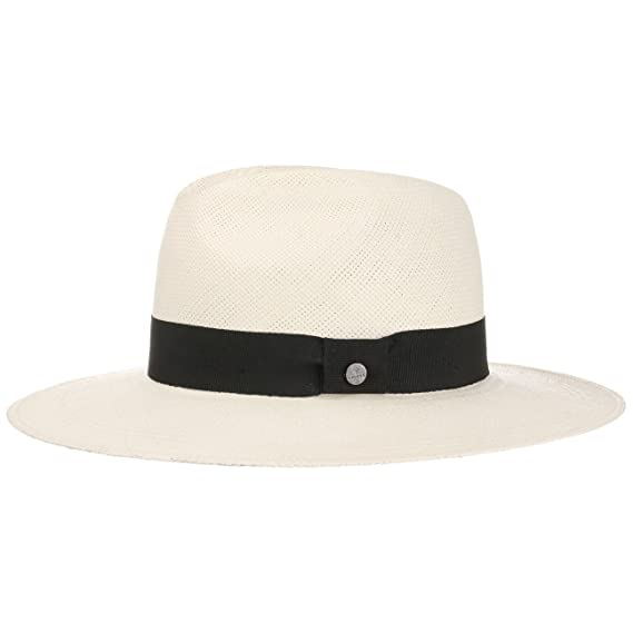 Lierys Big Brim Traveller Panama Hat Men´s (XL (61-62 cm) - White ... 16f9be4ef054