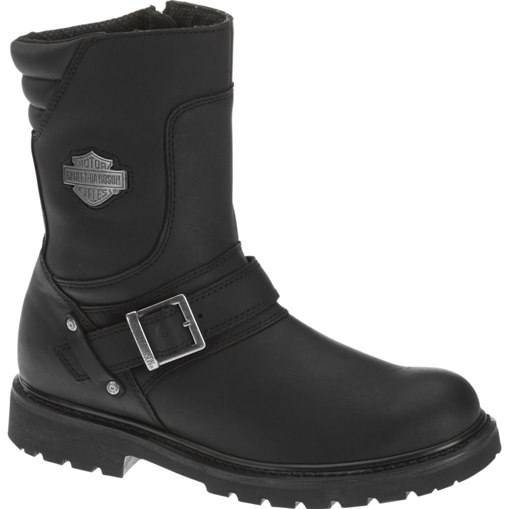 Harley-Davidson Men's Booker Engineer Boot,Black,9 M US