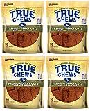 True Chews Dog Treats Premium Duck Jerky 12oz Made in USA (4 Packs)