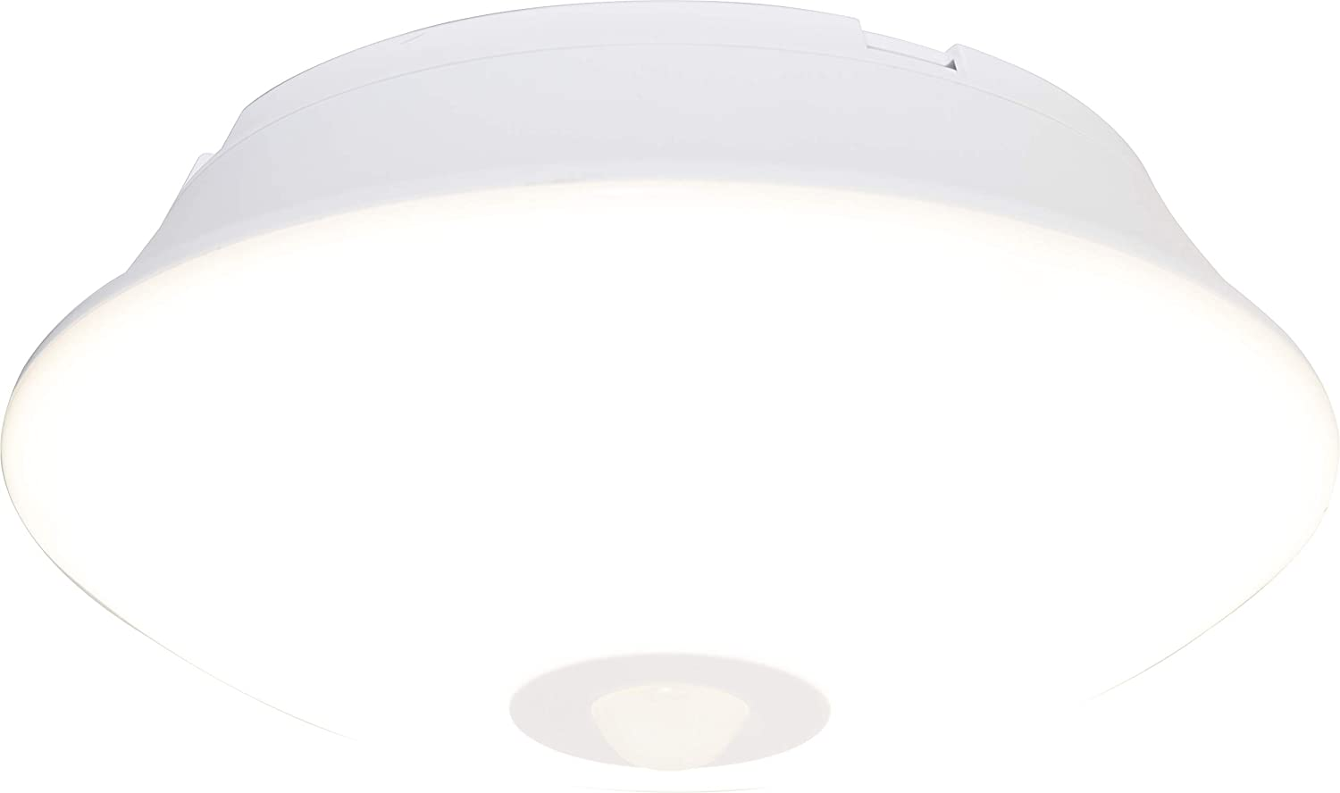 Energizer Motion-Activated LED Ceiling Light, Battery Operated, 300 Lumens, No Wiring Needed, 15ft. Motion Sensing, Great for Laundry Room, Garage, Closets, and More, 39677