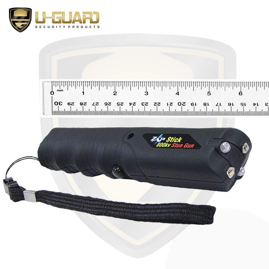 Amazon.com: Zap Stick Stun Pistola Autodefensa Spray Tazer ...
