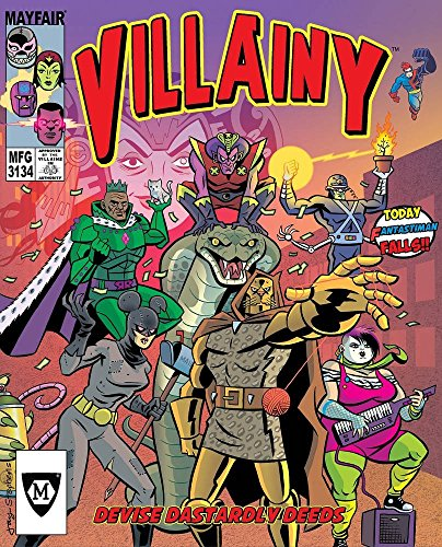 Villainy: Diabolical Doom-Dealing Doers of Dastardly Deeds Board Game