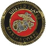 Uniformed U.S. Marine Emblem Die Cut
