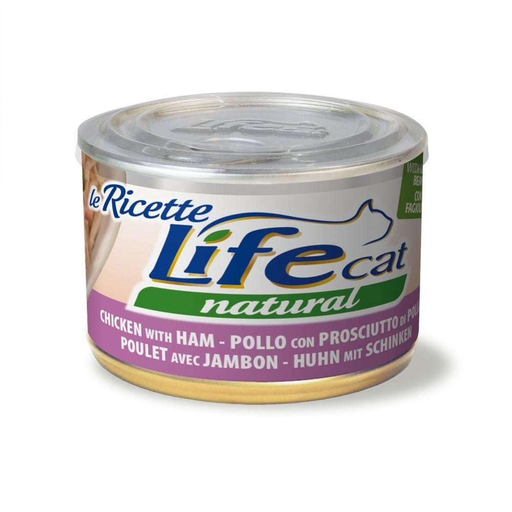 Life Cat 102391 Lata Le Recetas con Pollo, jamón y judías Verdes ...