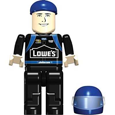 K'Nex Jimmie Johnson Figure Bag, 36513, 8 Piece Set, NASCAR, LOWE'S: Toys & Games