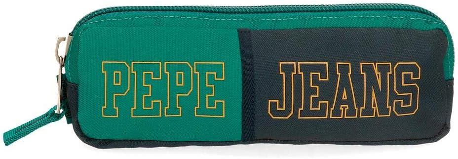 Estuche Pepe Jeans Mark, Verde, 22x7x3 cm: Amazon.es: Equipaje