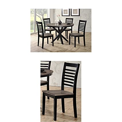 Image Unavailable  sc 1 st  Amazon.com & Amazon.com: Simmons Upholstery South Beach 5 pc Dining Set with ...