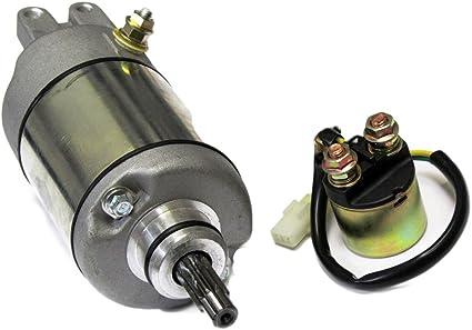 caltric Starter & relé solenoide para Honda TRX400 TRX 400 Fourtrax Foreman 1995 – 2003