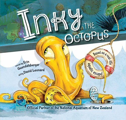 Inky the Octopus: Bound for Glory (Glory Book For Bound)