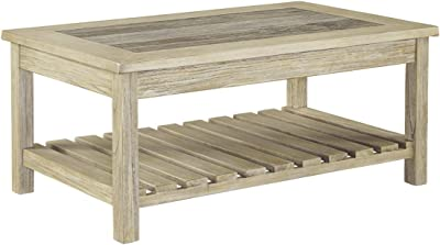 Bring Classic Charm In Your Living Room With This Coffee Table Made Of  Veneers Manmade Wood