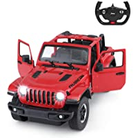 Jeep Off-Road Remote Control Car, 1:14 Jeep Wrangler JL RC Off-Road Racing Vehicle Toy Car for Kids Adults, Spring…