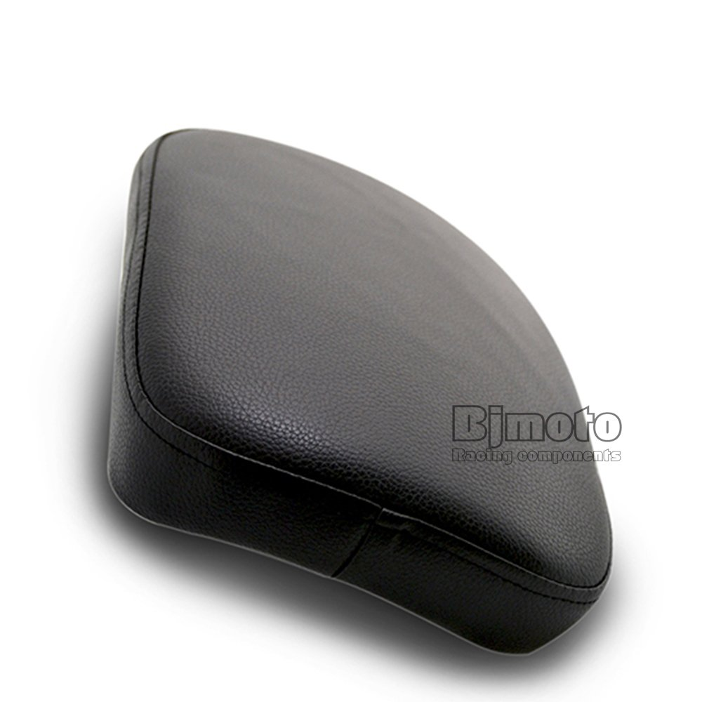 BJ Global Moto Trasero Pasajero coj/ín 6/ventosas Pillion Pad asiento de succi/ón para Harley Sportster Dyna Softail Touring XL 883/1200