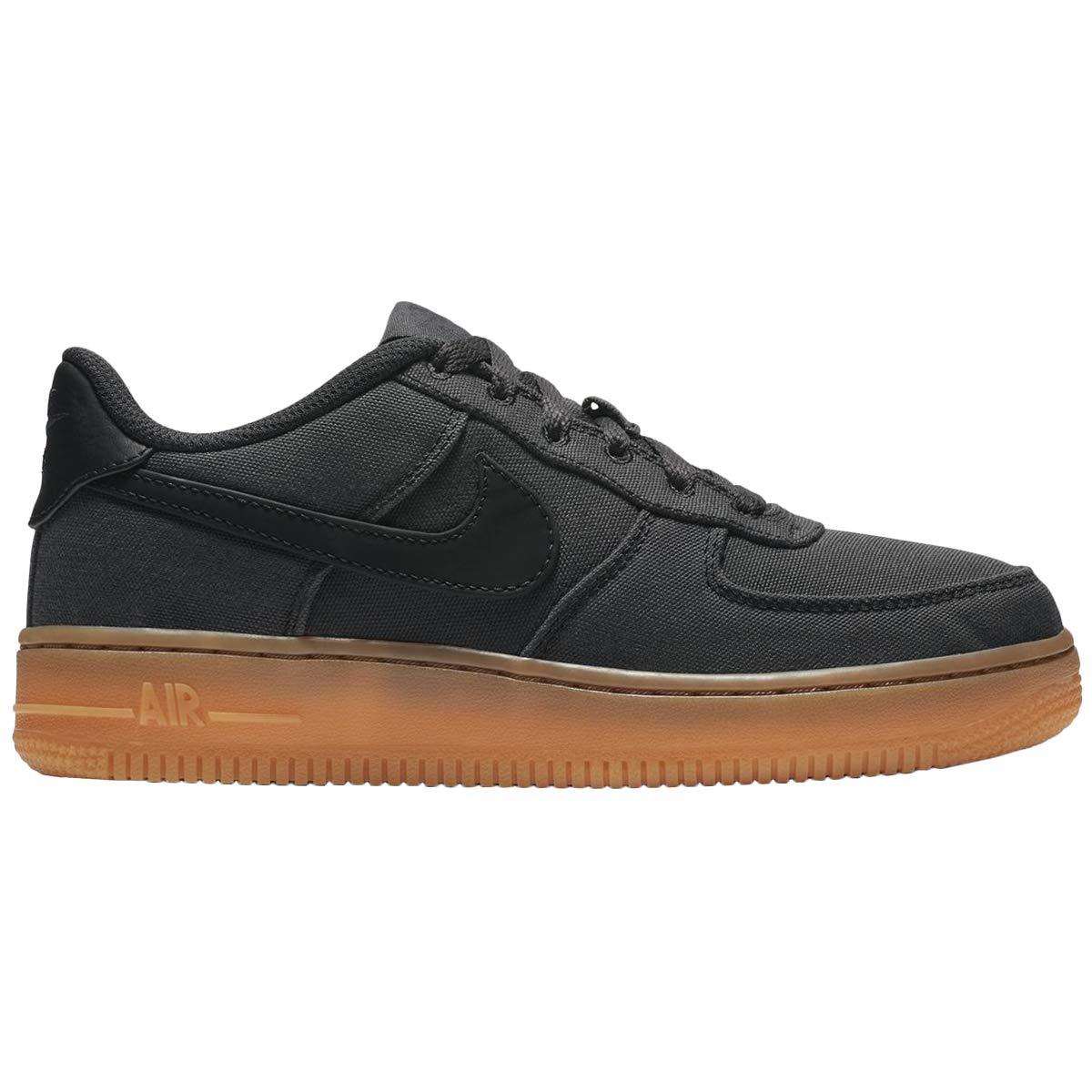 MultiCouleure (noir noir Gum Med marron noir 001) Nike Air Force 1 Lv8 Style (GS), Chaussures de Fitness garçon 38 EU