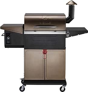 Z GRILLS 2021 Wood Pellet Grill & Smoker 8-in-1 Outdoor Cooking (600D)