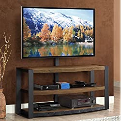 Whalen Furniture Santa Fe 3-in-1 TV Stand