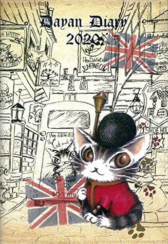 猫のダヤン 手帳 2020 画像