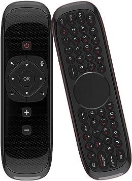 Docooler Wechip W2 2.4G Ratón de Aire Teclado inalámbrico con Touchpad Mouse Control Remoto por Infrarrojos para Android TV Box PC Proyector: Amazon.es: Electrónica