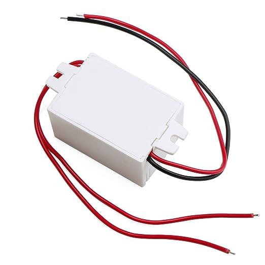 79 opinioni per DROK® AC 90 ~ 240V 220V a 12V Step Down Converter DC LED Alimentazione Elettrica