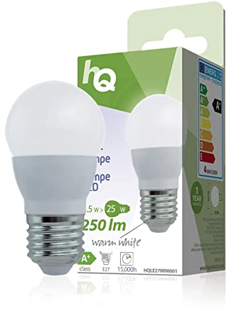 W Led 3 Mini 2700kAmazon E27 Lm Globe 5 250 Hq co Lamp ukLighting IgvyYm6f7b