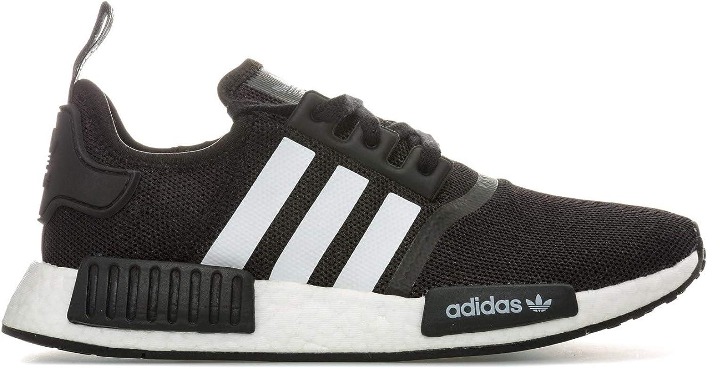 Adidas NMD_R1 - Zapatillas Deportivas para Hombre, Color Negro y Blanco