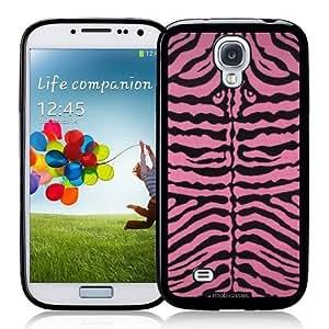 diy phone caseCool Painting Zebra Skin Pink - Protective Designer BLACK Case - Fits Samsung Galaxy S4 i9500diy phone case