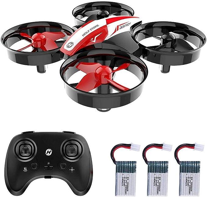 Holy Stone HS210 Mini dron cuadricóptero para niños y Principiantes RC helicóptero avión con ...