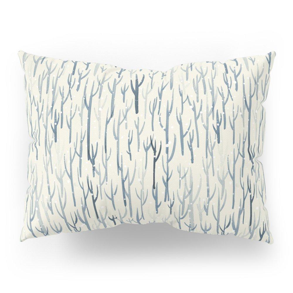 Society6 Winter Wood Pillow Sham Standard (20'' x 26'') Set of 2