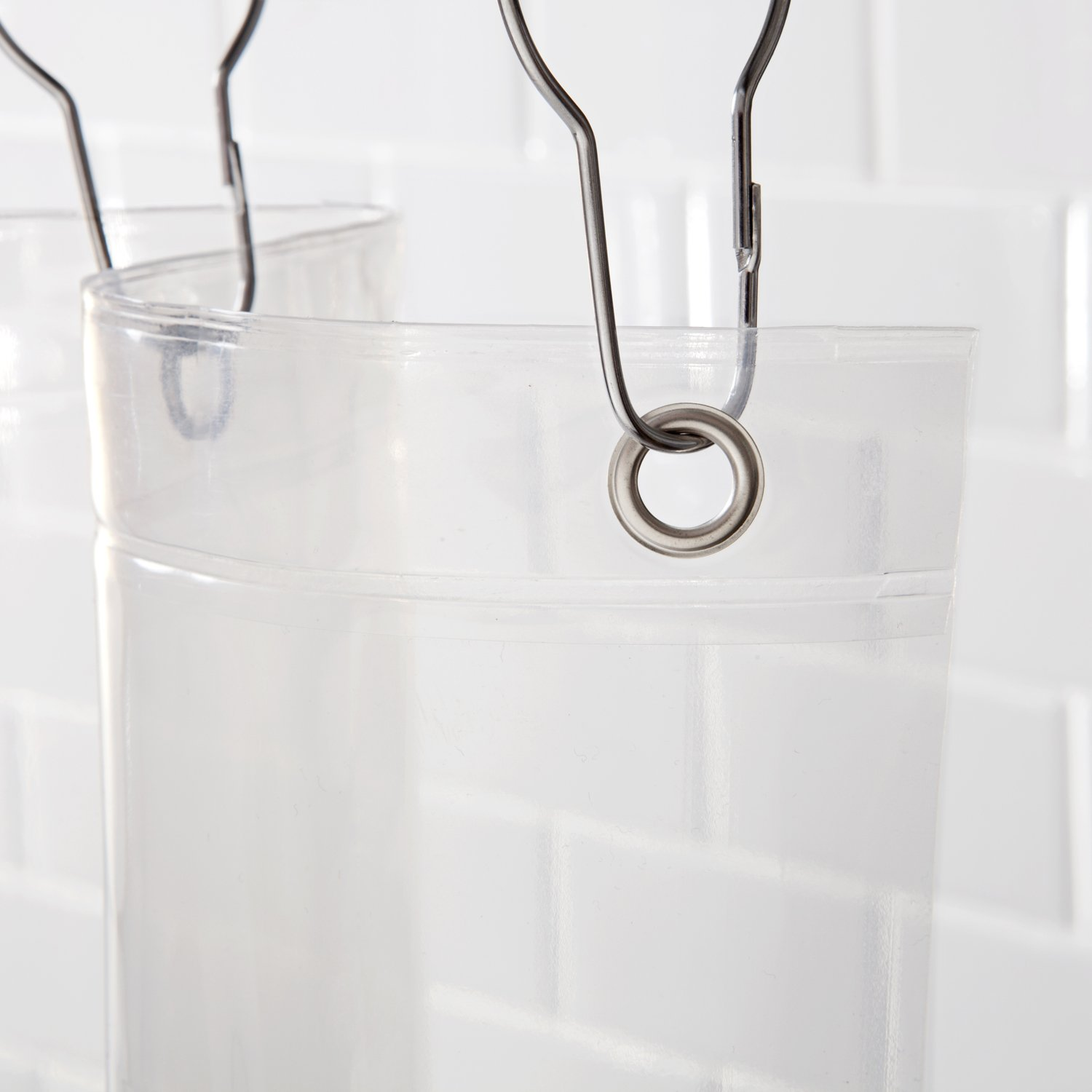 Kenney Manufacturing Company Peva 8-Gauge Clear Shower Liner 70 by 72-Inch