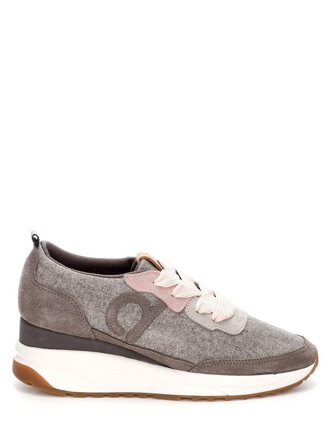 DUUO Raval, Zapatillas para Mujer 39 EU Gris (Grey 005)