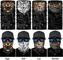 Outdooor 3D Animal Warmer Cycling Snowboard Scarf Neck Face Mask Balaclava US