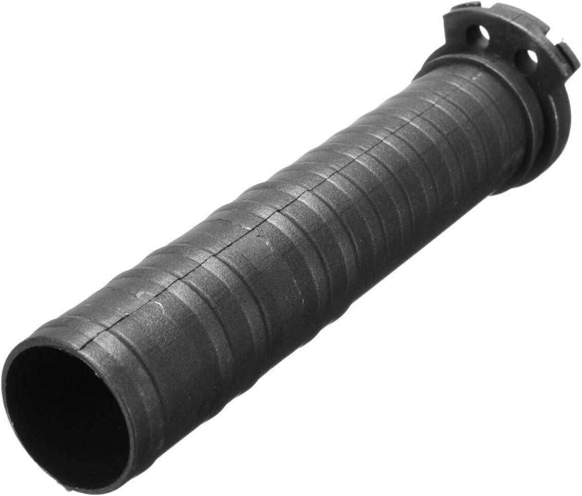 2pc 1 Pouce 25 mm Noir Moto Guidon Poign/ée Main Double c/âble dacc/él/érateur Manches Tube Poignet Moto