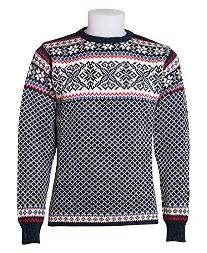 Norlender 100% Norwegian Wool Osteroy Sweater w/ FREE 100% Wool Ski Cap