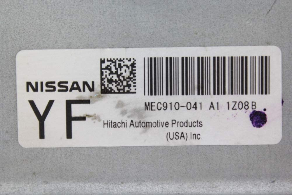2012 Nissan Versa ecm ecu computer MEC910-041