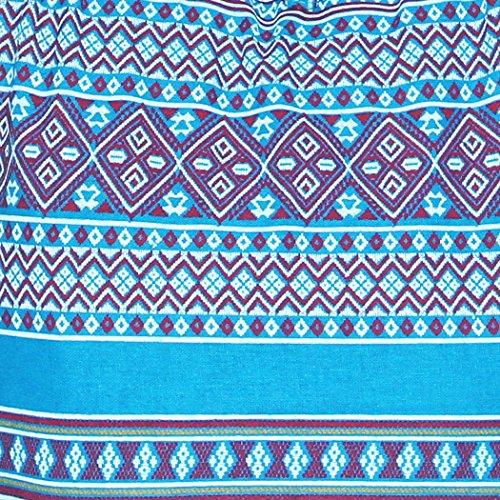 Classics Thing a Shoulder Colorful Hobo Hippie blu Bohemian Tutto Boho Borsa Best tracolla 1p5tqtw