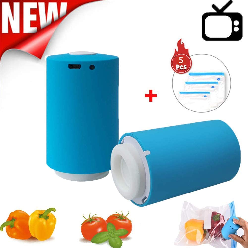 Mini Automatic Storage Bag Compression Vacuum Pump Portable Electric Air Pump