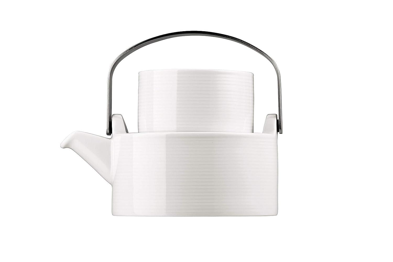 Thomas' Loft - Teekanne 1 P. 4-tlg, Weiß B00IWVGD5A Teekannen