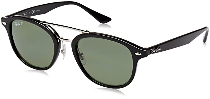 Ray-Ban 0Rb2183 Gafas de sol, Black, 53 Unisex-Adulto