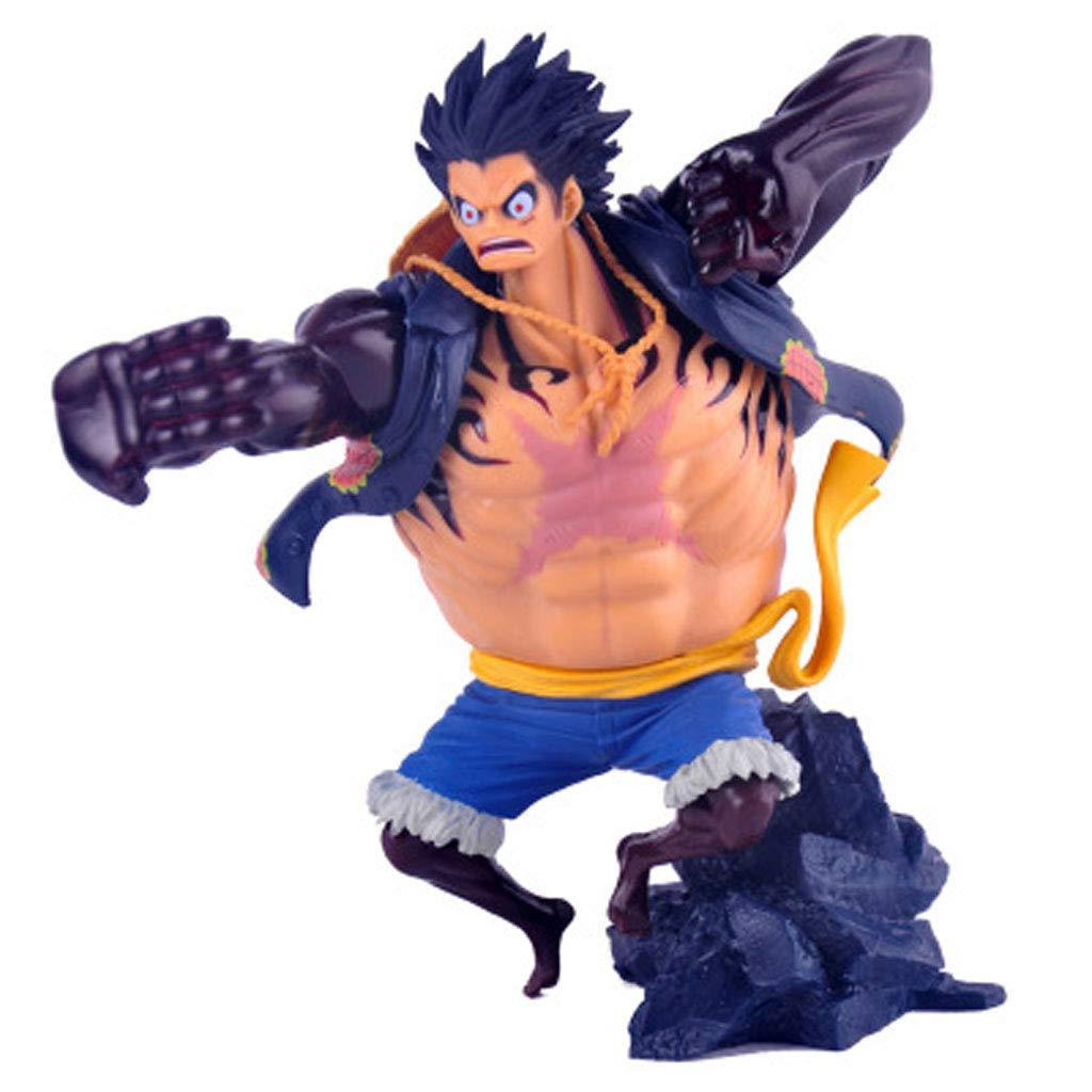 SONGDP Anime Charakter PVC-Puppe One Piece Hand zu tun SC Styling König auf der Schlacht 4 4 Lufei Gewehr Souvenir Geschenk Spielzeug Sammlung Urlaub Geschenk 16 cm Anime Anzug B07PH6C66M Menschen Attraktive Mode | Erlesene Materialien