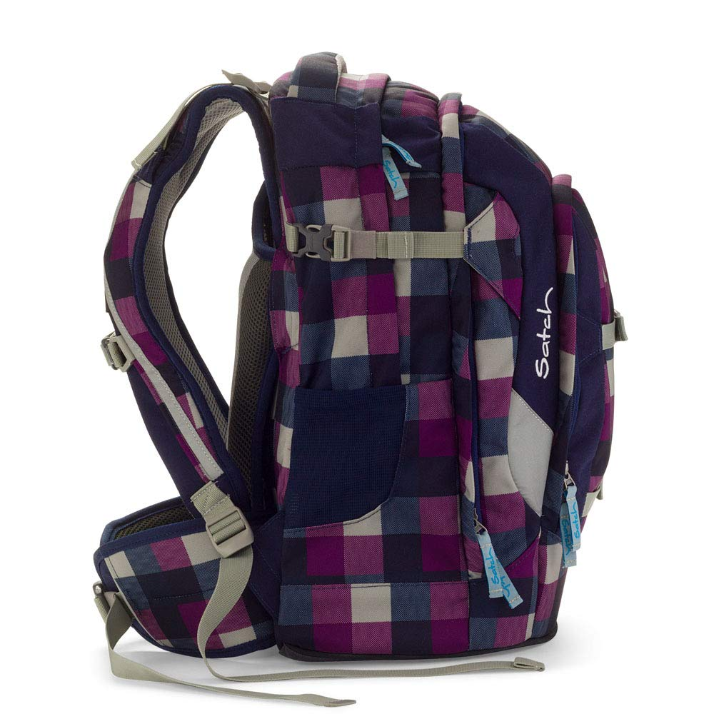 5b719b3891 Satch pack zaino scuola 48 cm compartimenti portatile Berry Carry:  Amazon.it: Valigeria