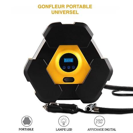 Nuevo Mini compresor Digital portátil para coche; camión; motos; bicicletas; globos; colchón hinchable etc.