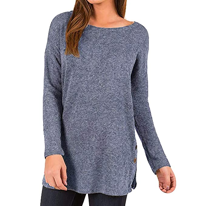 0578be7acff Tunic Sweaters for Women, Long Sleeve Oversized Fall Plus Size ...