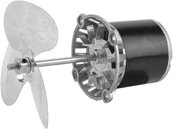 Jadpes Motor Motor Ventilador de enfriamiento de Eje Largo, 45 W ...
