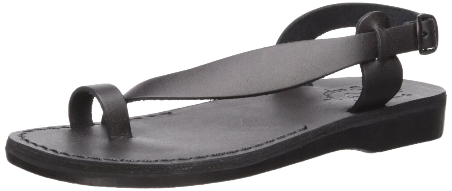 Jerusalem Sandals Women's Mia Sandal B075KXY2X1 40 Medium EU (9-9.5 US)|Black