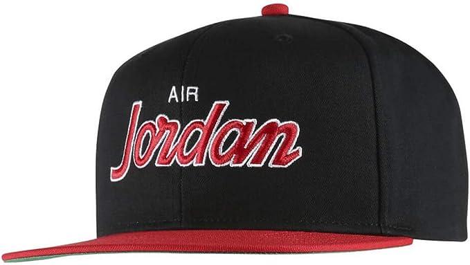 Nike Jordan Pro Script Cap Gorra, Unisex Adulto, Multicolor (Black ...
