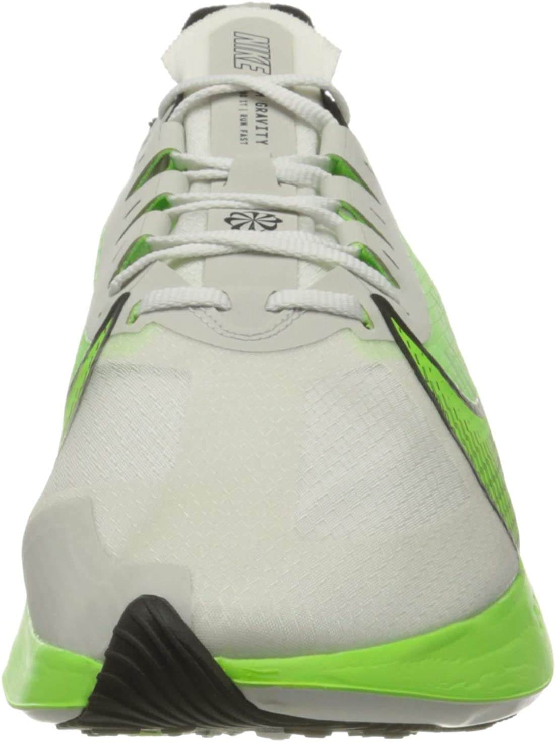 NIKE Zoom Gravity, Zapatillas de Entrenamiento para Hombre Gris Platinum Tint Electric Green Black White 003