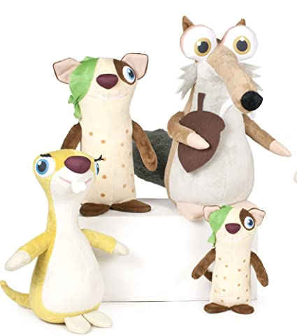Play Ice Age Plush Figures 17 cm Assortment (12) Peluches