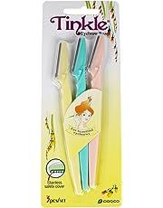 Tinkle Lot de 3 rasoirs à sourcils