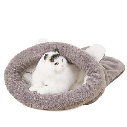 2018 Nuevo Saco de dormir del gato del perro de animal doméstico Cama de la forma