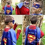 SPESS Comics Superhero Cape & Mask costume Set for Toddlers